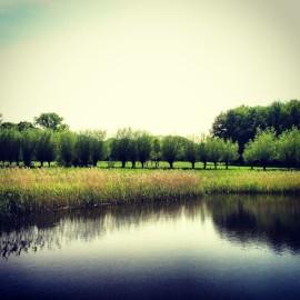 Einer der vielen Seen im Naturpark nahe der Fewo Walbeck