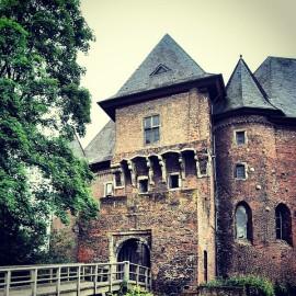 Die Burg Linn in Krefeld